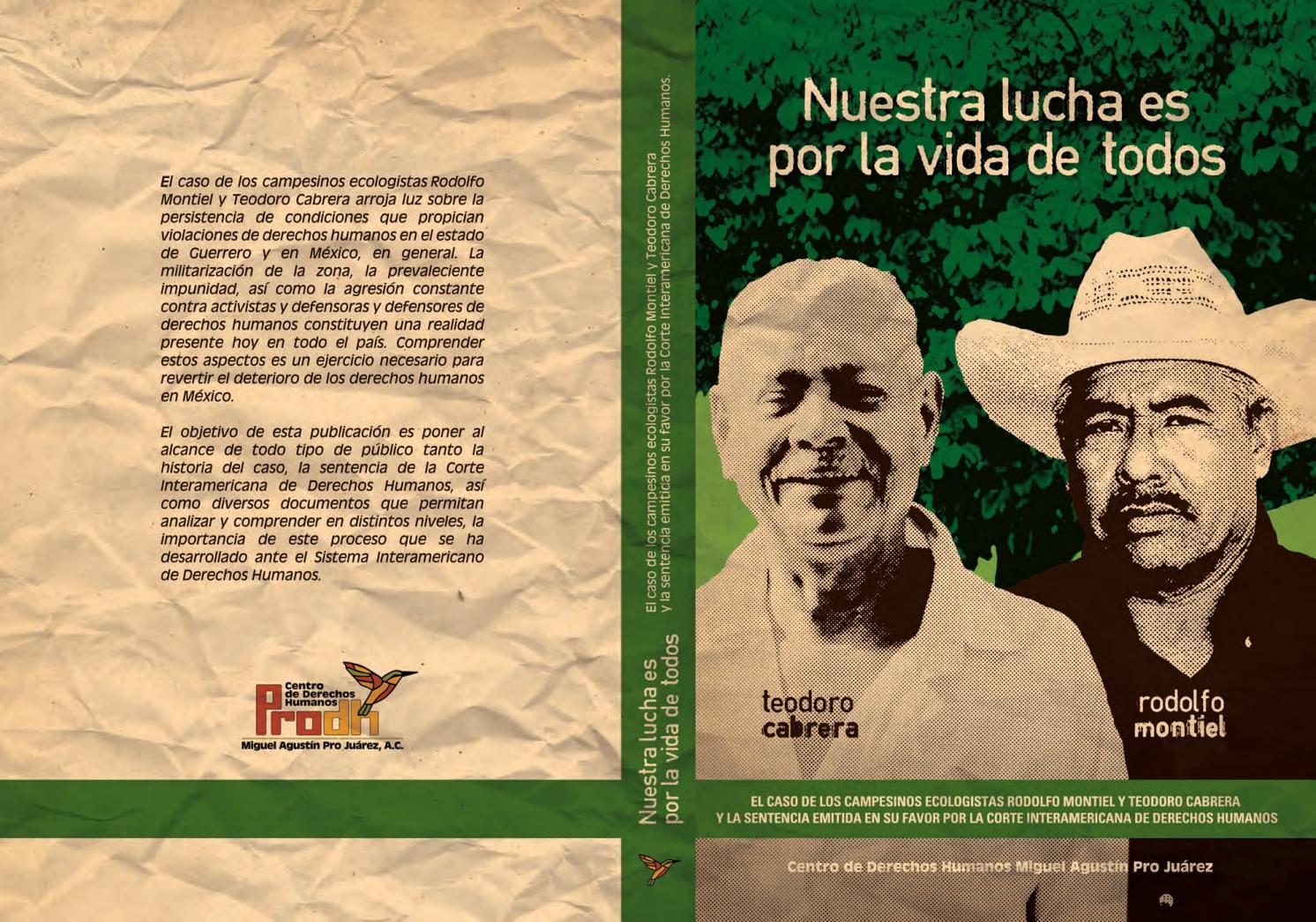Nuestra Lucha es por la vida de todos by Centro Prodh - issuu a14b2f3455c