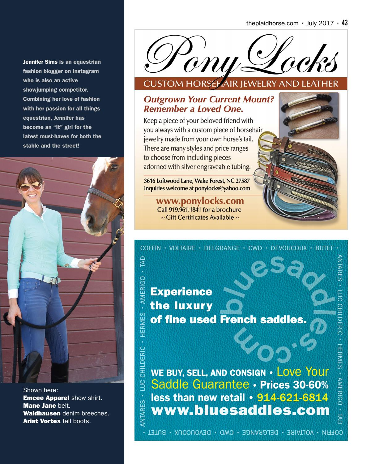 The Plaid Horse - July 2017 - The Horse Care Issue by The Plaid