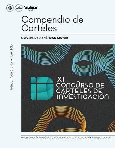 Compendio de Carteles by Universidad Anáhuac Mayab - issuu