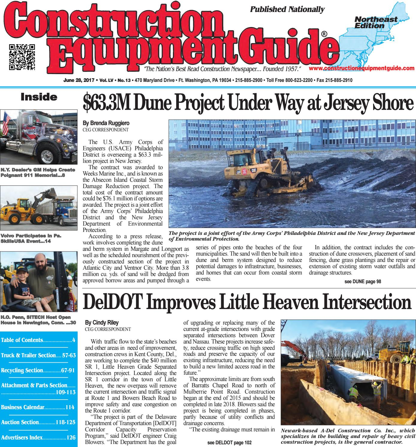 Northeast 13 June 28, 2017 by Construction Equipment Guide