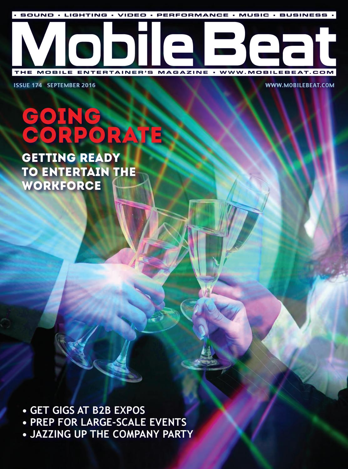 Issue 174 - September 2016 - Going Corporate by Mobile Beat