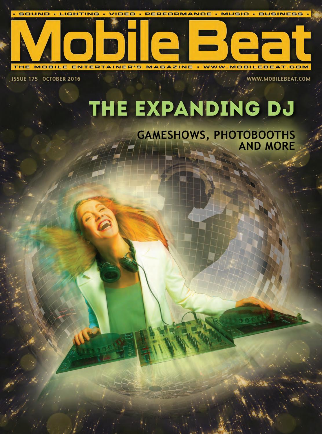 Issue 175 - October 2016 - The Expanding DJ