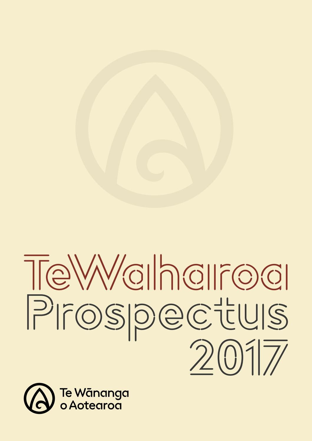 Te Waharoa - Prospectus 2017 by Te Wananga o Aotearoa - issuu b3e587746c