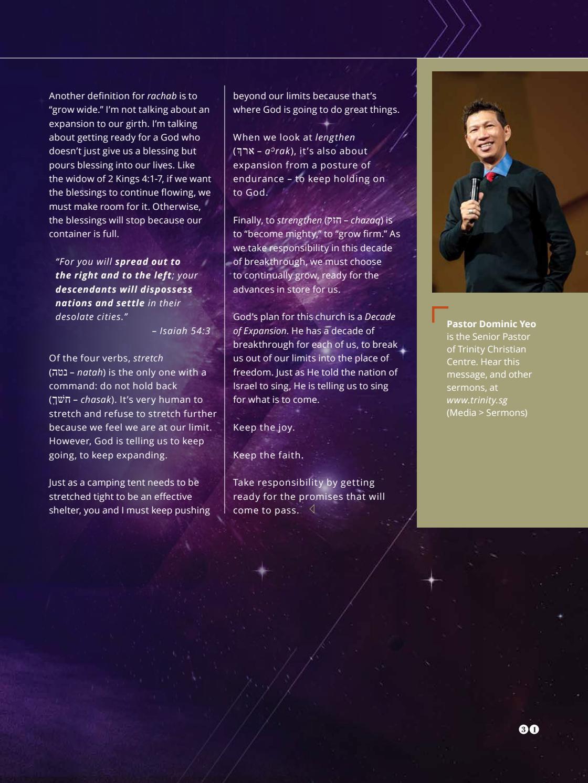 Trinitarian Magazine Issue 2/2017 by Trinity Christian