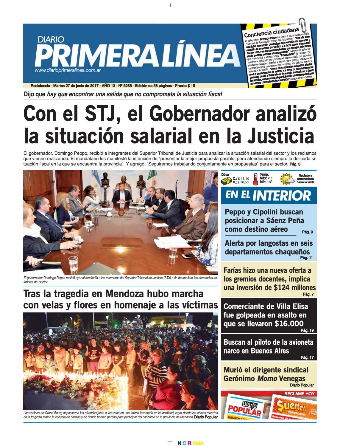 Primera Línea 5268 27 06 17 by Diario Primera Linea - issuu