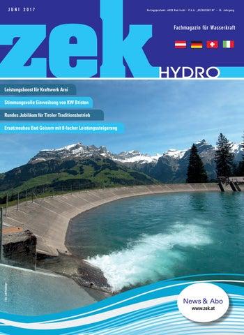 Zek Hydro   Ausgabe 3   2017 By Zek Magazin   Issuu