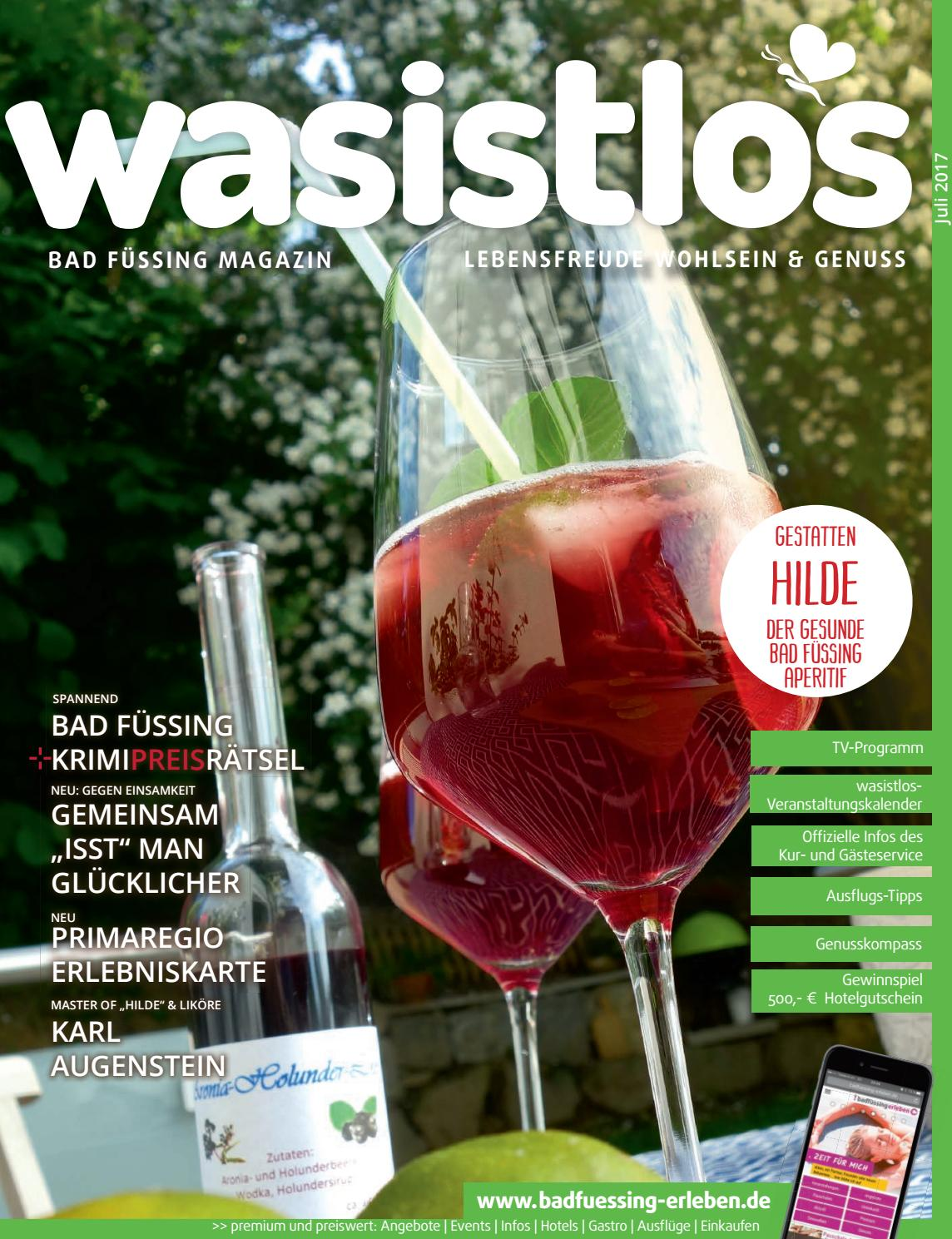 Wasistlos Bad Fuessing Magazin Juli 2017 By Remark Marketing