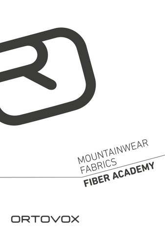Mountainwear Fiber Academy DE by ORTOVOX issuu