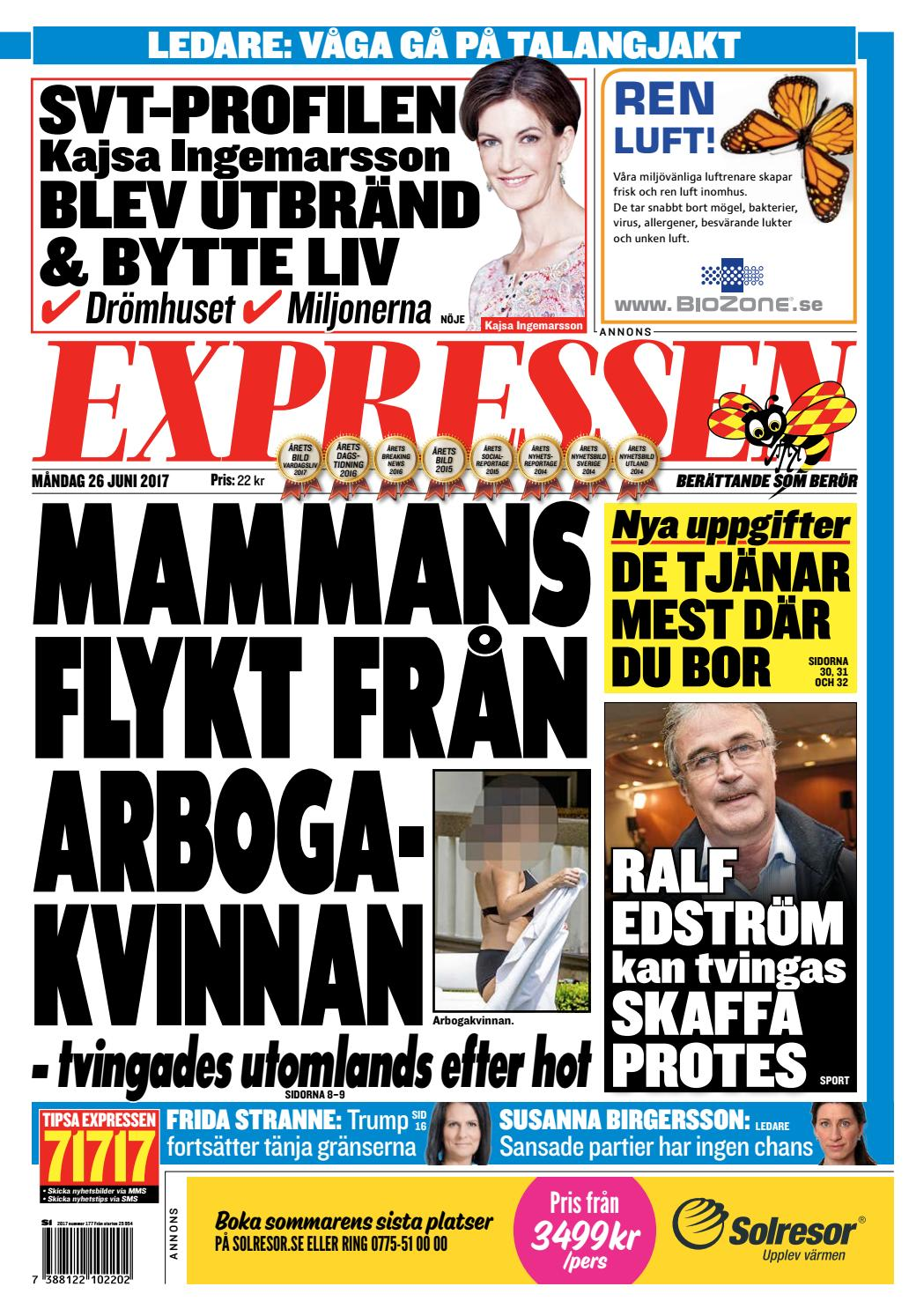 buy popular 2d862 acc70 Test expressen by Kvällstidningen Expressen - issuu