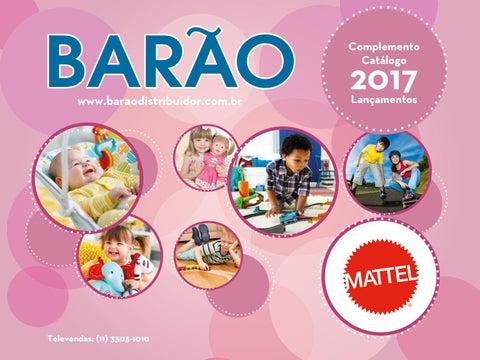1a8f7eb8063e0 Catalogo mattel 2017 - 2º Semestre by baraodistribuidor - issuu