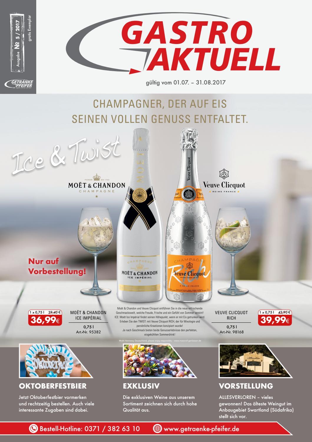 Gastro Aktuell - Ausgabe 5 / 2017 by Getränke Pfeifer GmbH - issuu