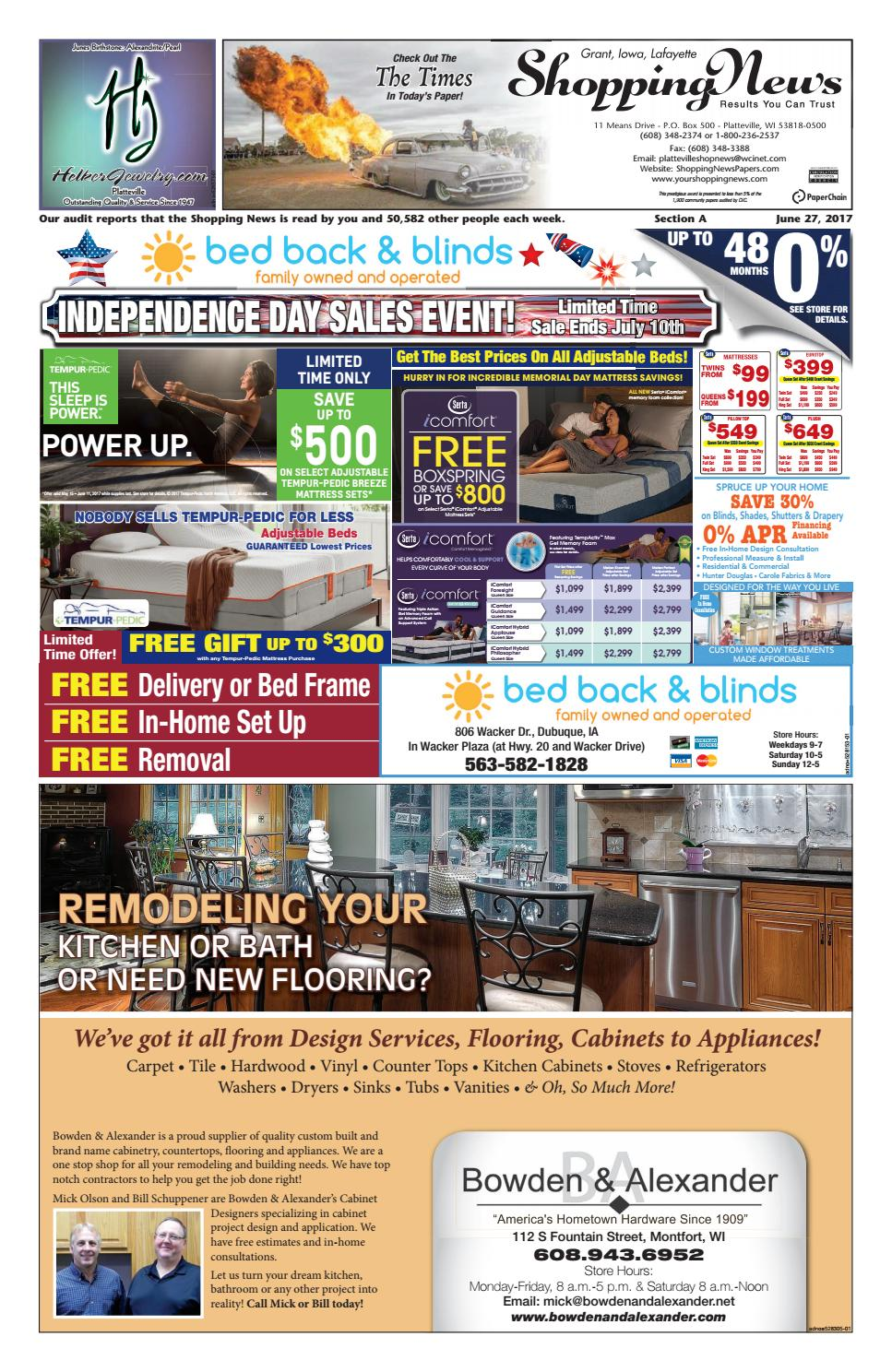 GIL Shopping News 6-27 by Woodward Community Media - issuu