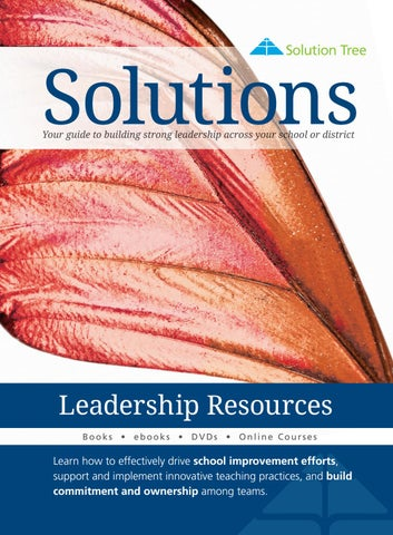 2017 st summer leadership resources catalog by solution tree issuu solutions your guide to building strong leadership across your school or district fandeluxe Image collections