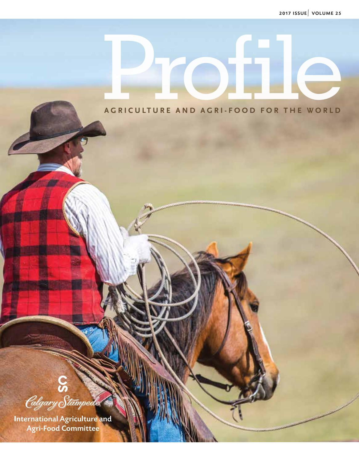 Profile 2017 By Calgary Stampede International Agriculture