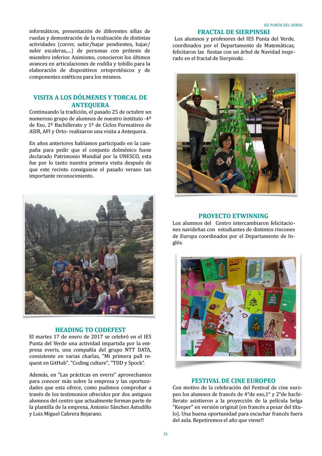 Anuario Curso 2016 / 2017 by IES Punta del Verde - issuu