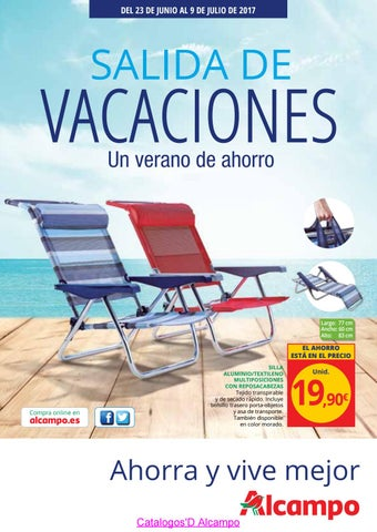 Catalogo Alcampo Vacaciones 2017 By Catalogosd Es Issuu
