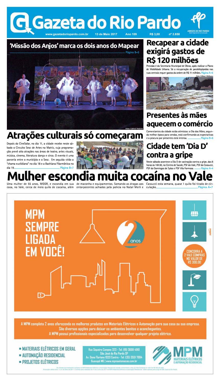 8cae0c8cfc6 2017-05-13 - Gazeta do Rio Pardo by Gazeta do rio Pardo - issuu