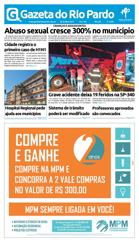 6b25a2f30c Gazeta do Rio Pardo - 20 de Maio 2017 by Gazeta do rio Pardo - issuu