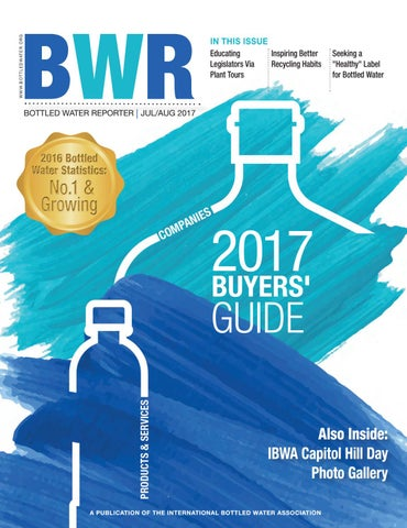 Bottled Water Reporter By Ibwa Issuu