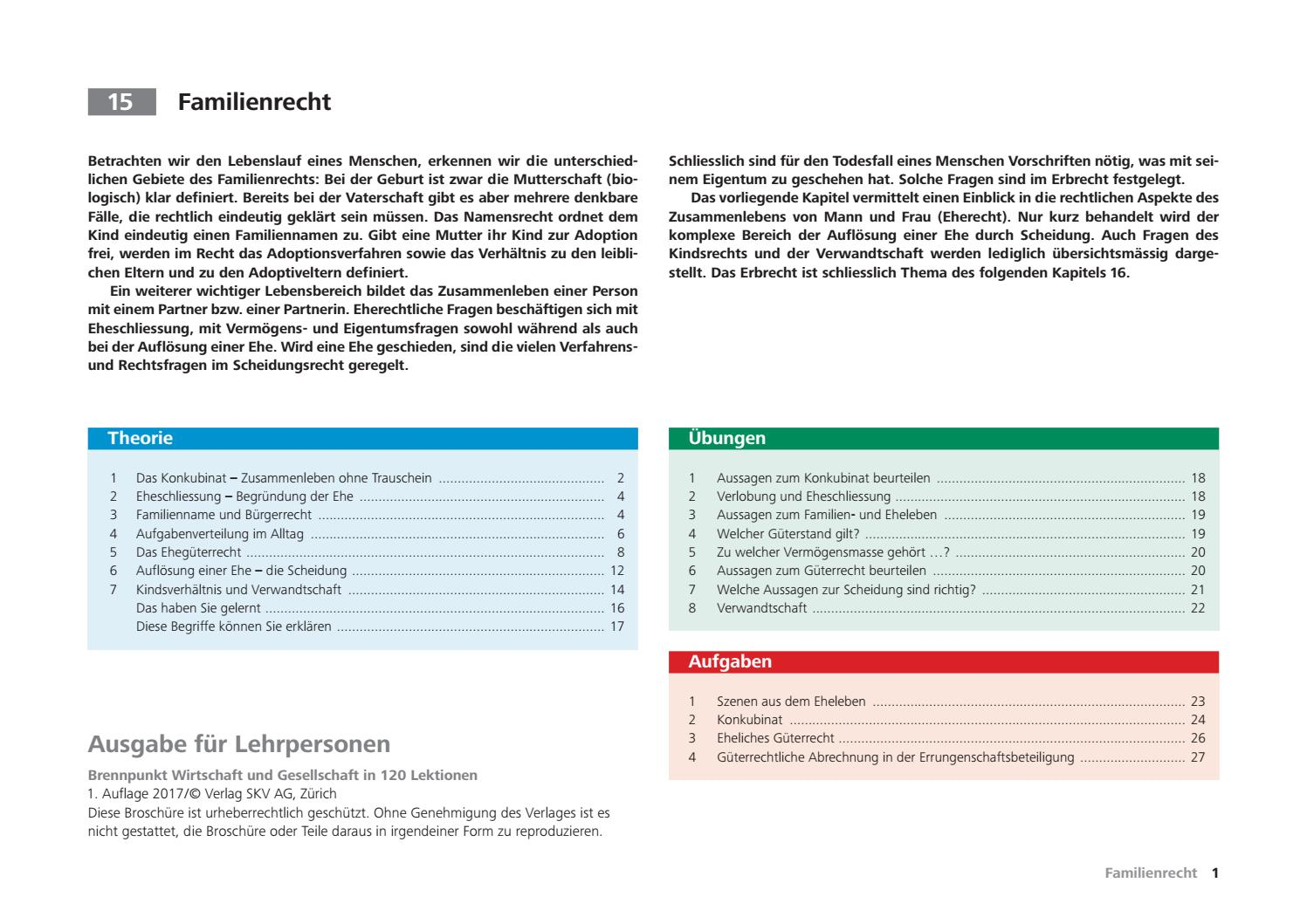 15 familienrecht 120 lektionen lp 1a 2017 low by STR teachware - issuu