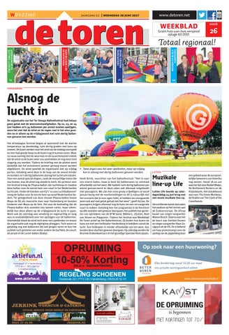 cd9fd87c8c4 De Toren - Week 26 2017 by Weekblad De Toren - issuu