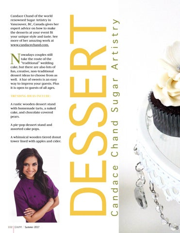 Page 102 of Dessert: Candace Chand Sugar Artistry