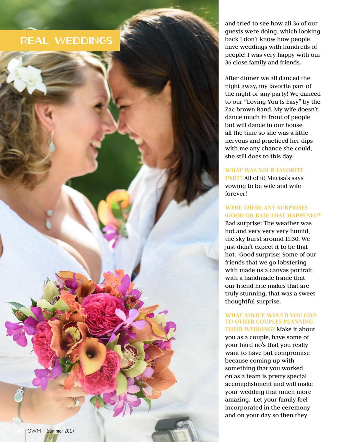 a45a0369e01 Summer 2017 GWM by Gay Weddings and Marriage Magazine - issuu