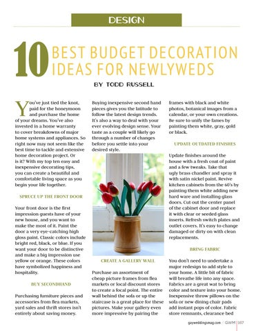 Page 167 of 10 Best Budget Decoration Ideas for Newlyweds