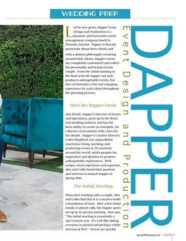 Page 5 of Dapper Event Design and Production