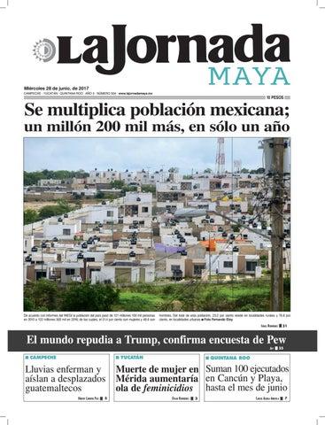 La Jornada Maya · Miércoles 28 de junio 54e42075393