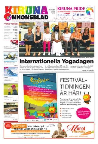 best authentic d77ac f25ad Kiruna Annonsblad   Kirunafestivalen by Svenska Civildatalogerna AB ...