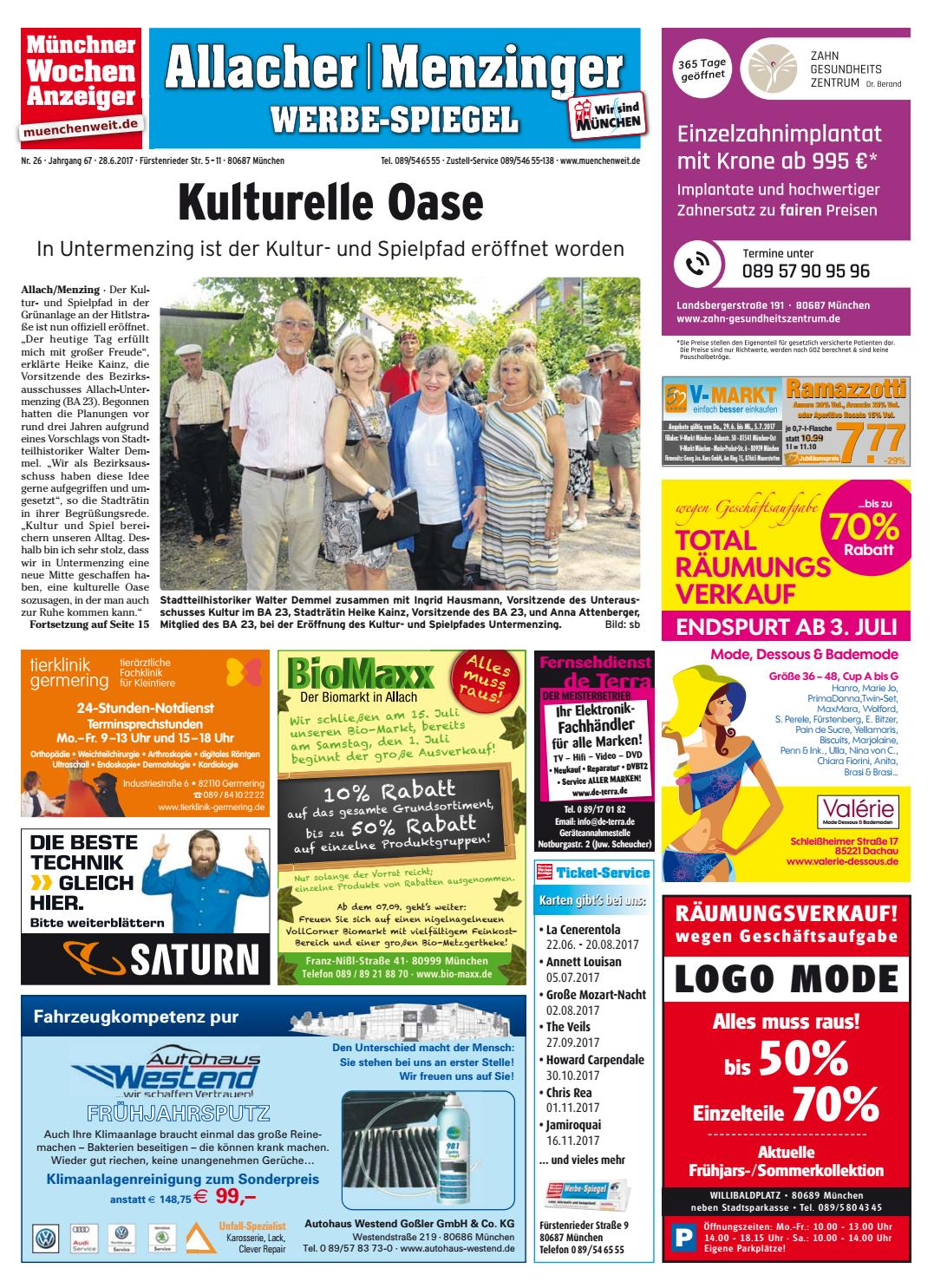 KW 26-2017 by Wochenanzeiger Medien GmbH - issuu