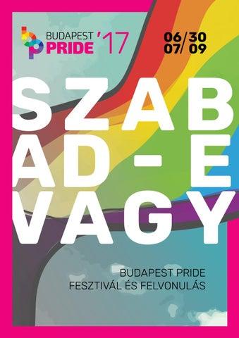 Budapest Pride Fesztivál 2017 Programfüzet    Budapest Pride Festival 2017  Program Guide 03caf57914