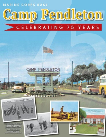 camp pendleton marine corps base 75th anniversary military