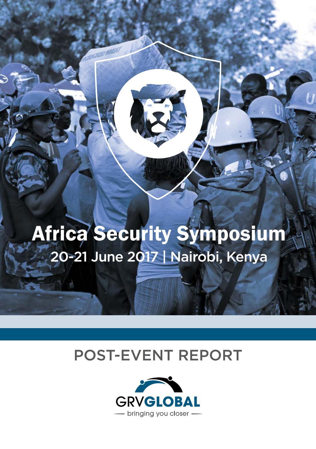 Africa Security Symposium by GRV Global - issuu