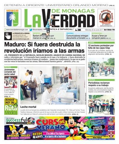 28 de junio pdf by La Verdad de Monagas 913c6d2022f8b