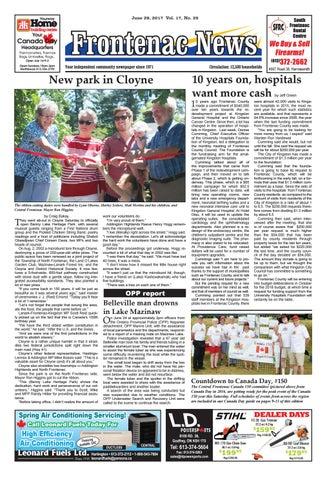 e2e7c418102 Vol.17 No.25 by Frontenac News - issuu