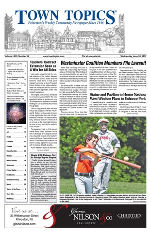 03833af65f Town Topics Newspaper June 28, 2017 by Witherspoon Media Group - issuu