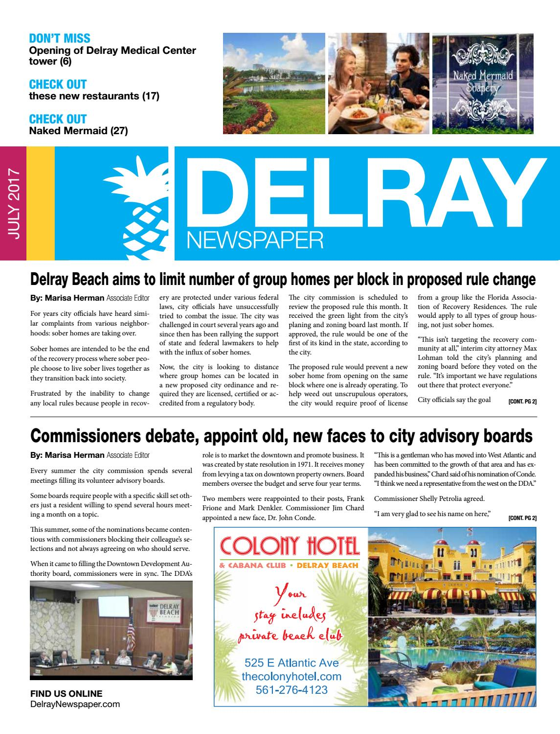 Delray Newspaper | July 2017 by Four Story Media Group - issuu