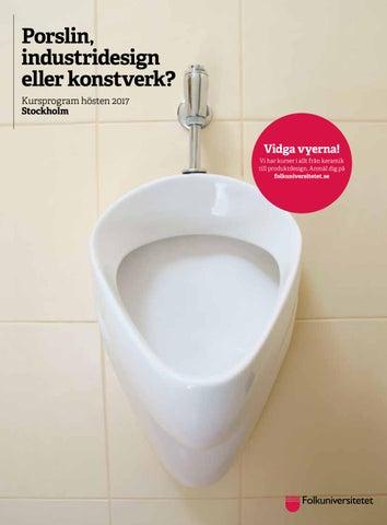 Kurskatalog Folkuniversitetet Stockholm hösten 2017 by ... 61125a96ca0fe