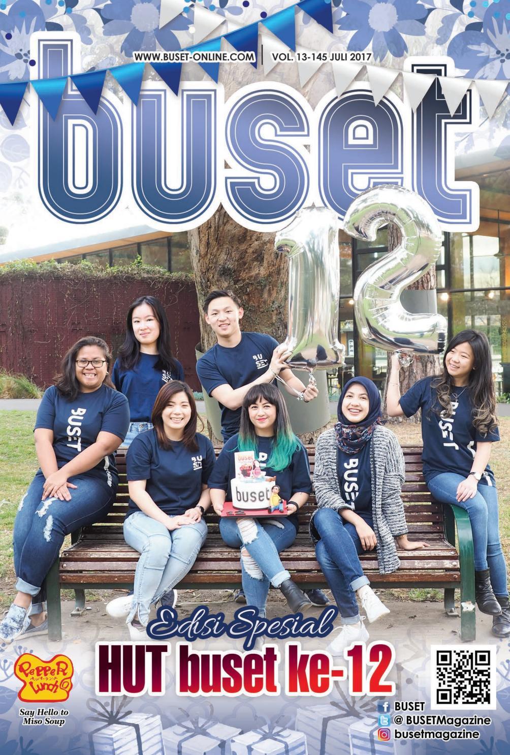 BUSET Vol 13 145 JULY 2017 By BUSET Bukan Sembarang Tabloid