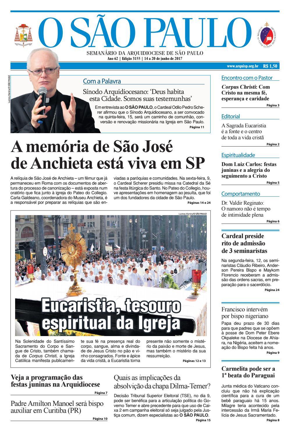 7f8296230 O SÃO PAULO - 3155 by jornal O SAO PAULO - issuu