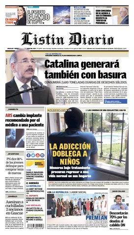 sports shoes 56b23 82df4 LD 28-06-2017 by Listín Diario - issuu