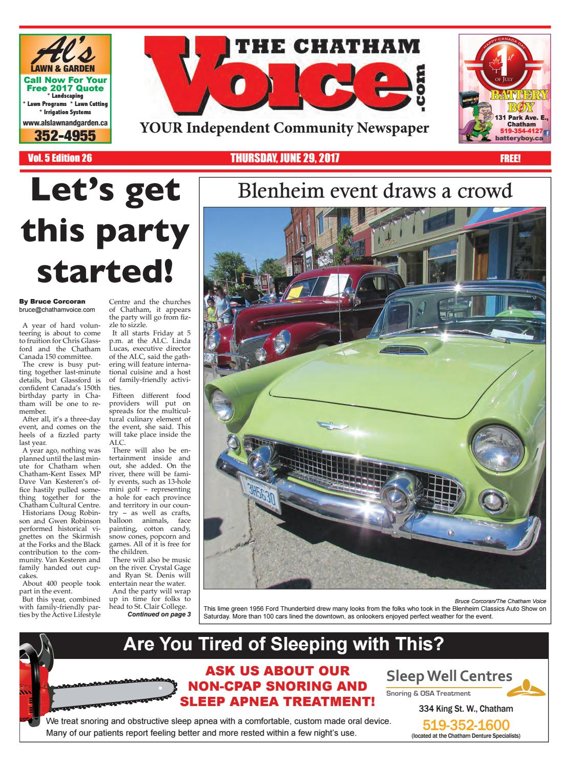 The Chatham Voice June 29 2017 By Issuu Full Bike Pato Fx 1