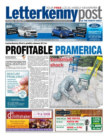 Letterkenny post 29 06 17 by river media newspapers issuu page 1 fandeluxe Choice Image