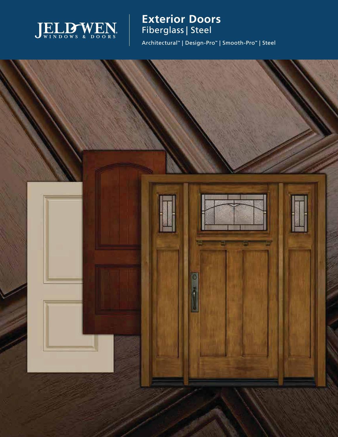 Jeld wen fiberglass steel exterior doors 2017 by meek 39 s for Jeld wen exterior fiberglass doors