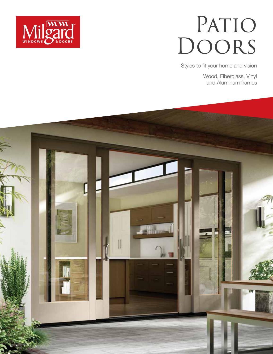 Milgard Patio Doors 2017 By Meek S Lumber Hardware Issuu
