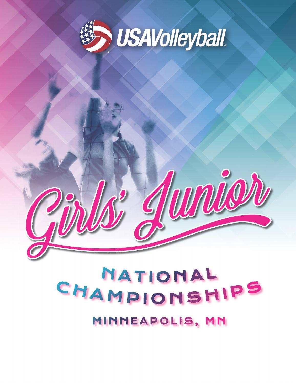 b00d5cd21b3f8 2017 USAV Girls  Junior National Championships Program by Barbara Grice -  issuu