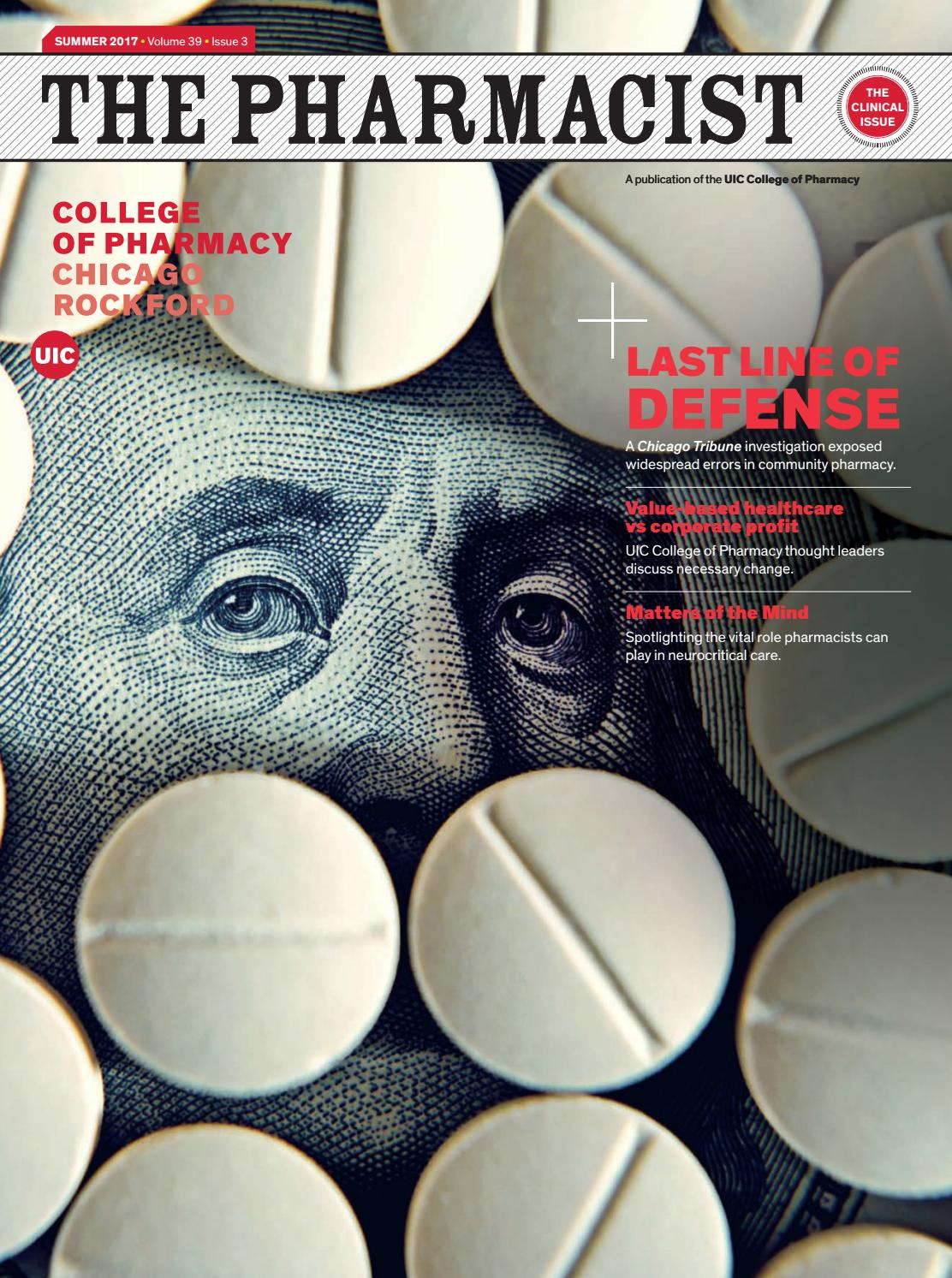 f5ba40c47a The Pharmacist - The Clinical Issue/Summer 2017 by UIC College of ...