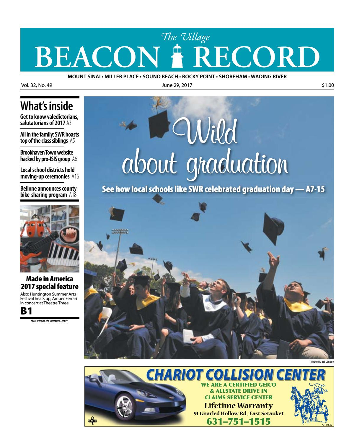 The Village Beacon Record - June 29, 2017 by TBR News Media